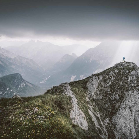Vom Tarmischbachturm kann man die wundevolle Aussicht des Geäuses genießen.