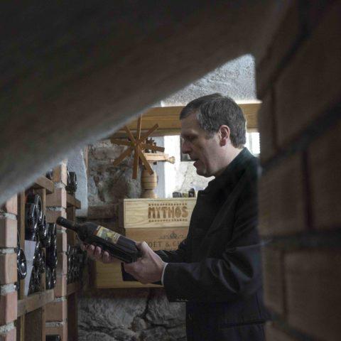 Klemens Pirafelner verantwortlich für Service und den Weinkeller